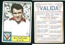 Altafini - Milan (Italy) Football! Ed.Panini Original 1963-64 Rookie! Unused