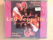 COFFRET 3 CD RARE / LED ZEPPELIN LIVE SEATTLE 1977 / KINGDOM OF ZEP / TB ETAT