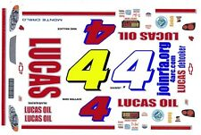 #4 Mike Wallace Lucas Oil 2005 1/64th HO Scale Slot Car Decals