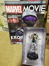 Marvel Movie Collection (Issue 56) EXO-SOLDIER Figure With Magazine (Eaglemoss)