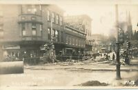 CUMBERLAND MD – Baltimore Street 1936 Flood Real Photo Postcard rppc