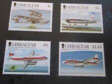GIBRALTAR 2006 75th Annv Gibraltar Air Mail  SG 1176-1179 MNH