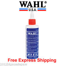 Wahl Clipper Blade Oil Lubricating Clipper Oil LARGE 118ml Bottle 3310 USA Made