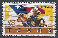 USA Briefmarke gestempelt 32c Texas 1845 / 4