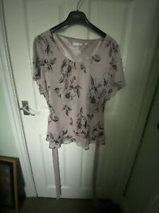 Jacques  Vert Size 18 Top With Sash