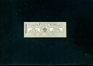 LOT 91321 MINT NH BOOKLET 38a FRENCH CONTAIN PANES 249c 252b 254b KING GEORGE V1