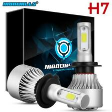 H7 IRONWALLS LED Headlight Conversion Kit 1300W 195000LM Lamp Light Bulbs 6000K