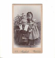 CDV Foto Niedliche kleine Kinder - Bielefeld um 1900