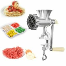 Manual Grinder Hand Operated & Sausage Maker Meat Mincer Kitchen Tool Heavy Duty