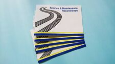 Blank Service History Book -Car Van Maintenance Replacement Vehicle Record Book