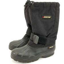 Baffin Women's 7 Black Insulated Waterproof Mid-Calf Snow Winter Boots Mens 5