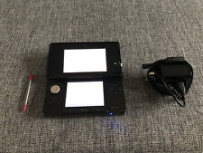 Black Nintendo 3DS Handheld System With Charger And Stylus
