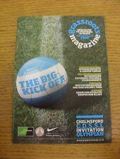 Revista de movilización de Oct-2010: edición 13-el único domingo Liga de fútbol Magazin