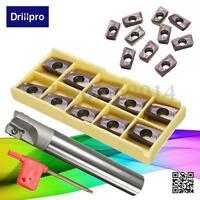 400R C24-25-150 Milling Toolholder + 10x APMT1604PDER-M2 VP15TF Carbide Inserts