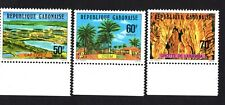 Gabon 1977 set of stamps Mi#620-22 MNH