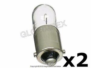 Porsche 911 914 '65-'89 Instrument/License/Side Marker Bulb Set of 2 OSRAM OEM