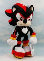 "11"" Black Shadow Sonic The Hedgehog Plush Toy Stuffed Doll Figure Gift"