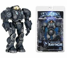 """NECA Jim Raynor Starcraft Heroes Of The Storm Blizzard Warcraft 7"""" Action Figure"""