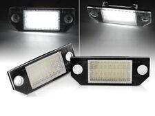 Coppia di Placchette Luci Targa LED per Ford FOCUS MK2 II 2 C307 C-MAX I 1 IT PR