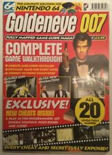Rare Goldeneye Nintendo 64 Complete Game Walkthrough Guide Maps Cheats Magazine