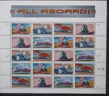 USA. 1999 Trains Sheet. MNH.