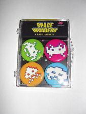 COOP Space Invaders Arcade Game Magnet Set-New