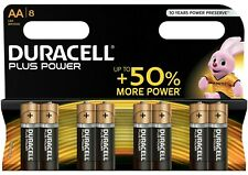 DURACELL PLUS POWER AA 8 PACK BATTERIES