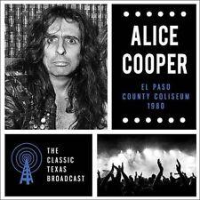 Alice Cooper - El Paso County Coliseum 1980 - Double LP - New