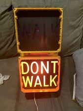 DURASIG WALK DONT WALK SIGN LARGE  LIGHT