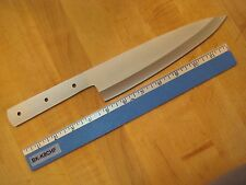 "Kitchen Knife Blank 8"" Chef. Fully hardened and sharpened 440C Stainless"
