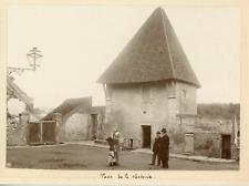 France, Tour de la Vacherie, ca.1900, vintage silver print Vintage silver print,
