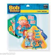 BOB THE BUILDER Party Supplies ~ (8) T-SHIRT EMBLEMS