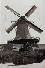 507094 Canadian Tank Netherlands 1945 J Smith DND 166903 A4 Photo Print