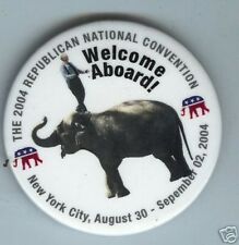 REPUBLICAN Convention pin 2004 ELEPHANT New York City