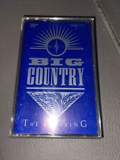 Big Country - The Crossing  Cassette Tape Blue Cover