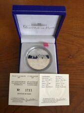 FRANCE FRANKRIJK SILVER 1,5 EURO COIN 2005 VINS DE BORDEAUX proof box coa
