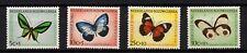 Netherlands New Guinea, Scott # B23-B26, Set Of 4 Various Butterflies, Birdwing
