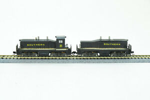 N Scale Atlas Southern SW1500 Cow & Calf Set Both Powered