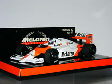 Minichamps McLaren TAG MP4/2C Keke Rosberg 1986 British GP MLC-43 1/43