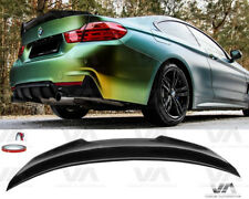 BMW 4 SERIES F32 PSM STYLE REAL CARBON FIBER BOOT TRUNK LIP SPOILER