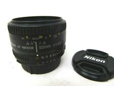 Nikon 50mm f/1.8D Auto Focus Nikkor Lens-Used