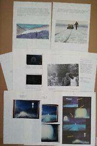 UFOs Observations SAMIZDAT -N.Potapov Art- Alien Bigfoot Photos Drawings - 1990