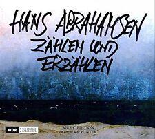 Hans Abrahamsen - Zahlen Und Erzahlen CD MUSIC EDITION