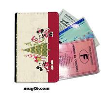 mickey mouse disney 01-012  étui pochette carte grise carte d'identité permis