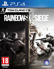Tom Clancy's Rainbow Six Siege (PS4)  NEW AND SEALED - QUICK DISPATCH - IMPORT