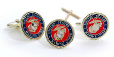 U.S. Marine Corps - USMC Tie Tack & Cuff Link Set