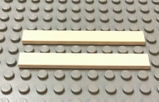 Lego Lot Of 2 Bianco Mattonella 1 x 8 9493 7191 60102 1774 1581 7945 10129 10213