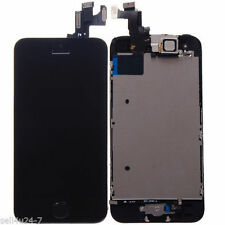 Black Iphone 5S LCD Touch Digitizer Glass Screen Assembly with Home Button