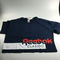 Reebok Classic Cropped Tee Size L
