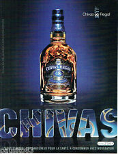 PUBLICITE ADVERTISING 115  2007  CHIVAS REGAL  whisky 18 YEARS            121115